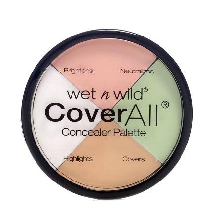 Wet n Wild paleta korektorjev - Photo Focus Correcting Palett