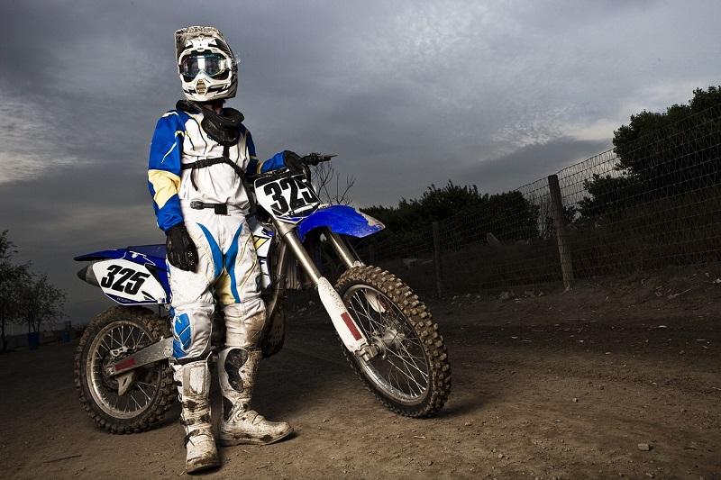 Motocross oprema vas zaštiti u slučaju pada